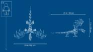 71721 Skull Sorcerer's Dragon Dimensions 2