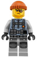 Movie Shark Army Thug Minifigure