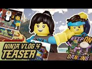 Ninja Vlog -4- Mysteries, Revelations and EPIC dance moves!! - Nya & Jay from LEGO NINJAGO