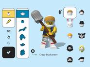 LEGO Brawls (iPad) ~ Bolobo's hair & beard, Cole's mask & the Mechanic's hat