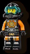 Scuba Cole Minifigure 2