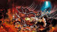 71721 Skull Sorcerer's Dragon Poster