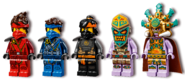 71747 The Keepers' Village Minifigures