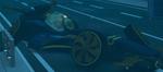 Damaged sub car