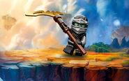 Ninjago Skybound - Destiny Cole Poster