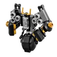 Polybag quake mech the lego ninjago movie