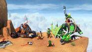 The Green NRG Dragon - LEGO Ninjago - 70593 - Product Animation
