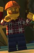 Hard hat lumberjack