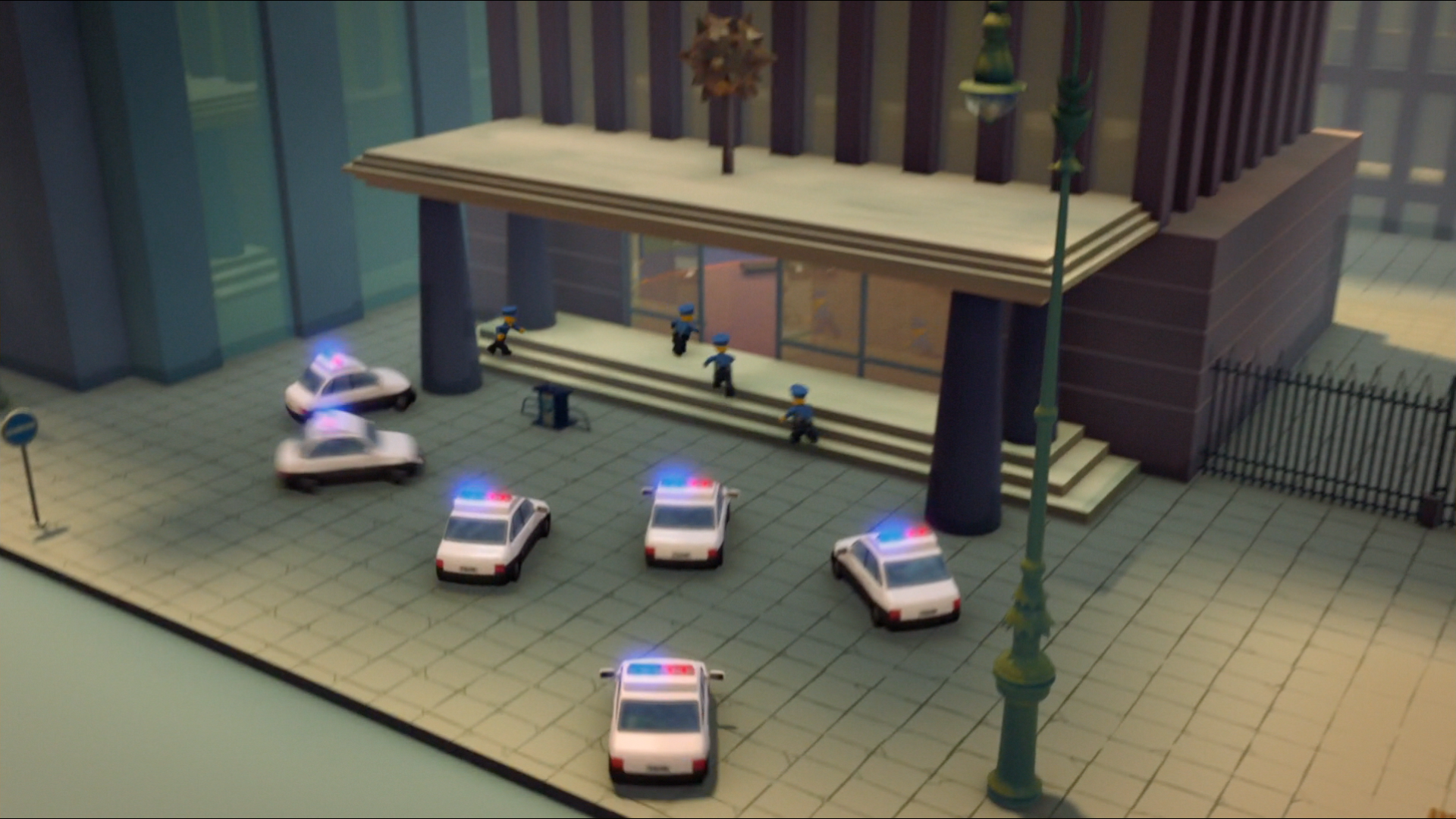 Ninjago City Police Station
