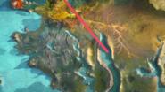 Ninjago island world map