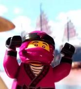 Розовый Ниндзя (The LEGO Ninjago Movie)