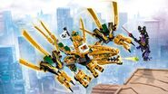 70666 The Golden Dragon Poster