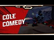 Cole- Balance Between Strength and Fun! - NINJAGO Character Trailer