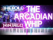 LEGO NINJAGO - The Arcadian Whip by The Fold - Synthesia Piano Tutorial