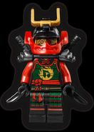 Samurai X Nya 3.0 Minifigure