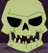 Skull of Haza Dur anime