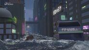 Ninjago City flooded