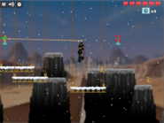 Level 2 of Rise of the Nindroids 5