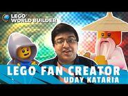 This Fan Became A LEGO NINJAGO Legacy Series Creator – Uday Kataria