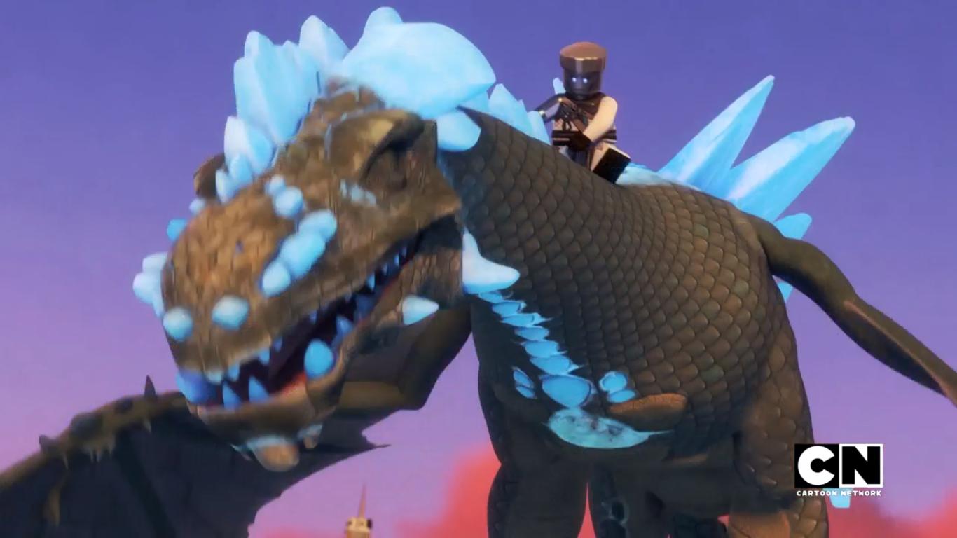 Ice Dragon (Realm of Oni and Dragons)