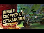 Ninjago S3 - Jungle Chopper & Catamaran - The Island