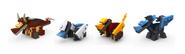 Мини-Драконы в LEGO Universe.