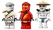 71753 Fire Dragon Attack Minifigures
