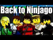 LEGO NINJAGO - Back to Ninjago by The Fold - Synthesia Piano Tutorial