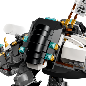 Lego 71719 71722 ninjago Hero Cole Minifigure with shield Master of the Mountain