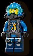 Scuba Jay Minifigure 2