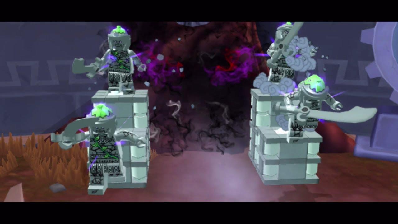 Ожившие статуи (LEGO Ninjago: Shadow of Ronin)