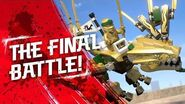 The Golden Dragon – The Final Battle- Lloyd the Golden Ninja vs
