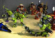 9455 Fangpyre Mech and other Ninjago prototypes