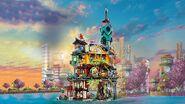 71741 Ninjago City Gardens Poster