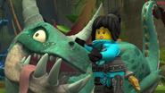 Ninjago–(The Island)–Zippy and Nya