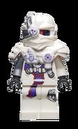 White Nindroid Minifigure