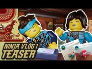Ninja Vlog -1- Our FIRST ever Ninja Vlog! - Nya & Jay from LEGO NINJAGO