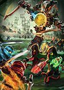Ninjago Season 7 Promotional Poster