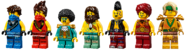 71735 Tournament of Elements Minifigures