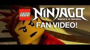 NINJAGO Spinning Out In Color FAN FEATURE Video by The Fold