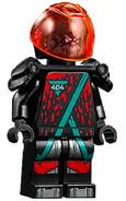 Winter 2020 Red Visor Minifigure 2