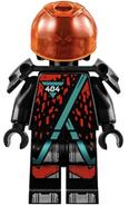 Winter 2020 Red Visor Minifigure
