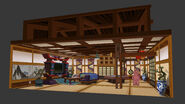 NGO monastery MainHall Design SS 001