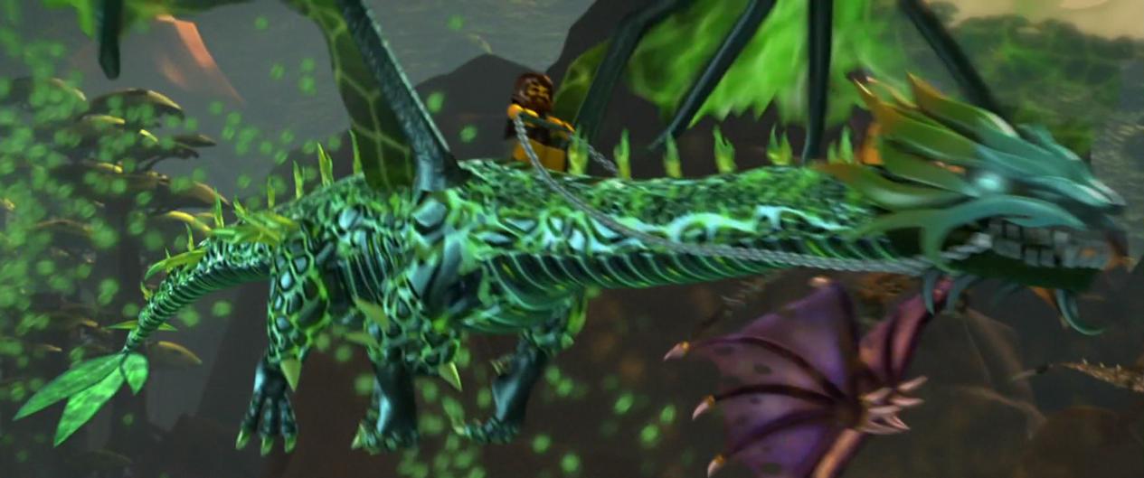 Elemental Nature Dragon