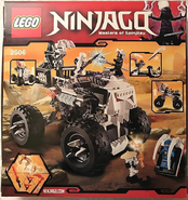 Ninjago 2506 Back Box