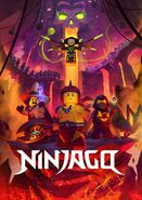 Ninjago Master of the Mountain - Upply Poster