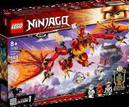 71753 Fire Dragon Attack Box