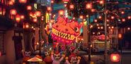 Dragon celebration