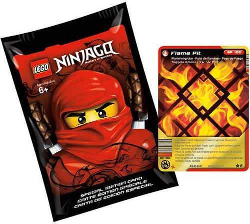 2855165 Special Edition Ninjago Card