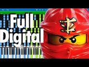 LEGO NINJAGO - Full Digital by The Fold - Synthesia Piano Tutorial